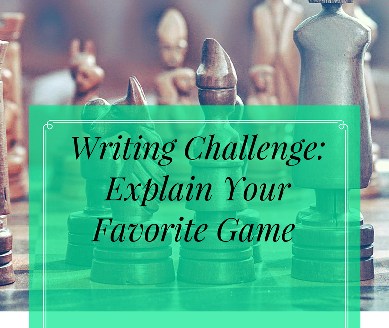 Writing Challenge: Process Essay
