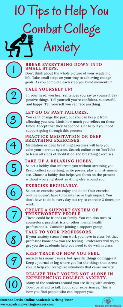 10 Tips to Fight College Anxiety