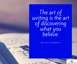 The art of writing--Gustave Flaubert