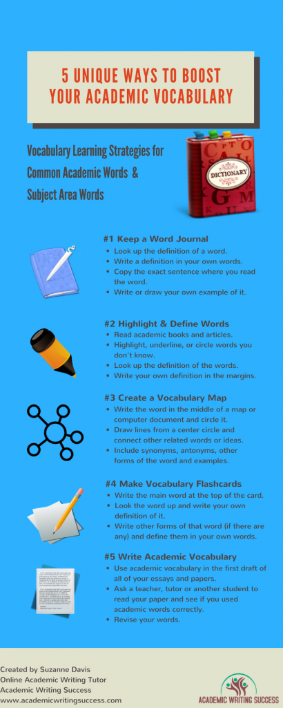 5 Unique Ways to Boost Your Academic Vocabulary