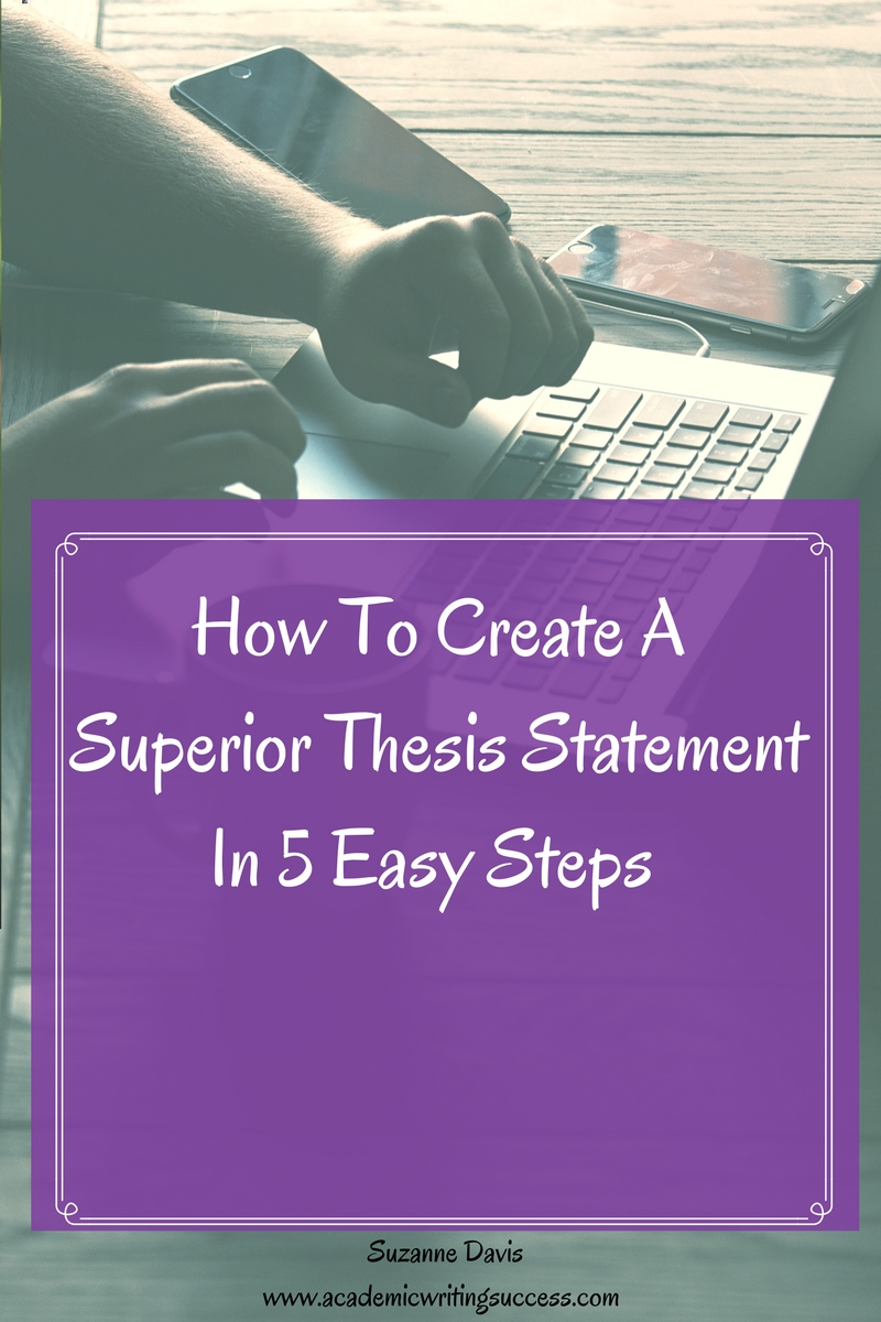 create a thesis statement for me Developing a thesis skip to main content  after reading your thesis statement, the reader should think, this essay is going to try to convince me of something.