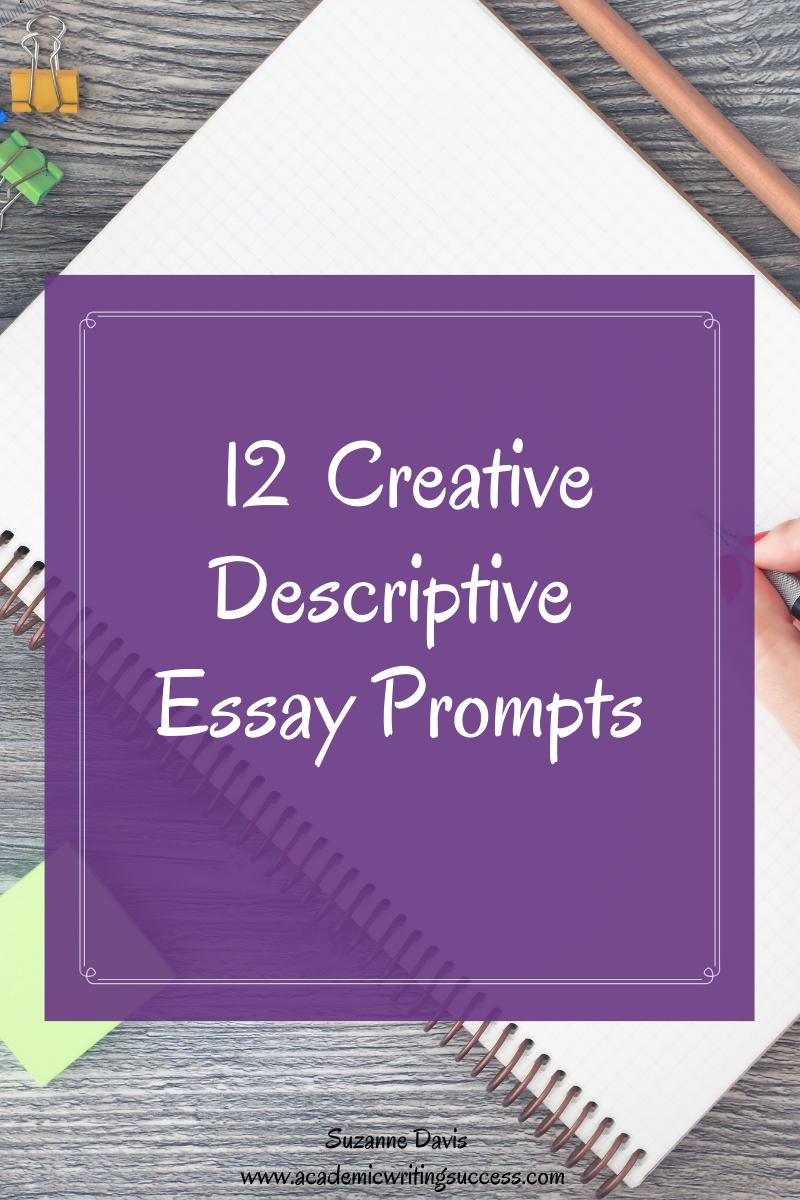 descriptive writing topics for 6th grade