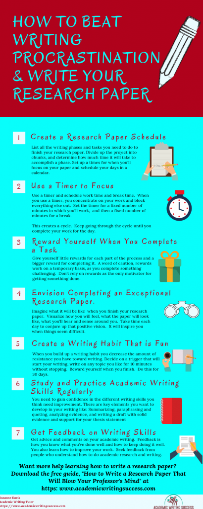 How to Beat Writing Procrastination