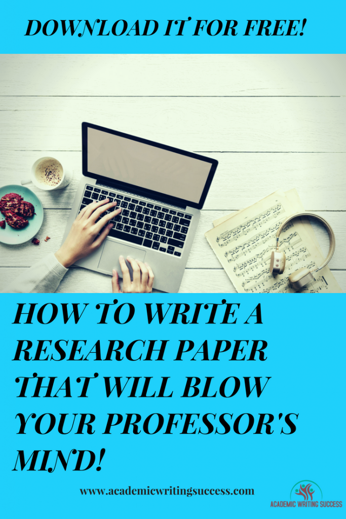 Free Guide--How to Write a Research Paper