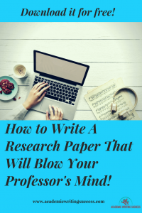 How to Write a Research Paper Free Guide!