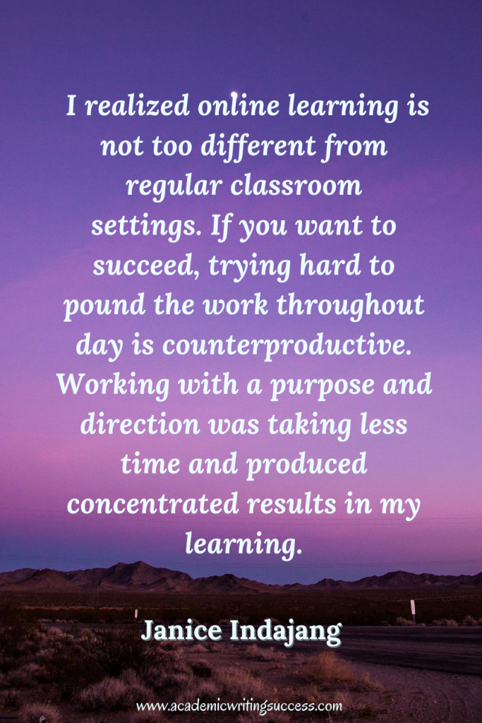 Online Learning Success Quote