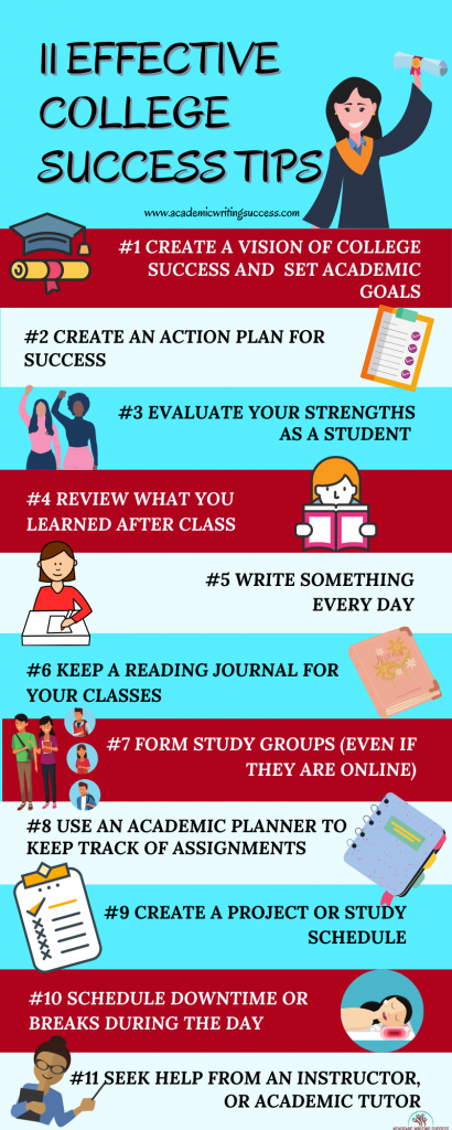 11 Effective College Success Tips