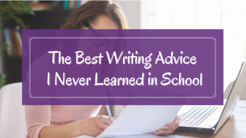 Best Writing Advice I Never Learned in School -Write Hot and Edit Cold