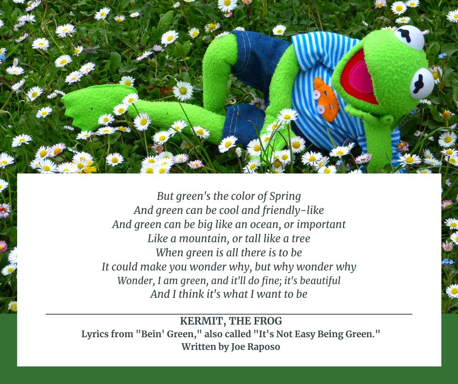 Being Green Song Lyrics by Joe Raposo