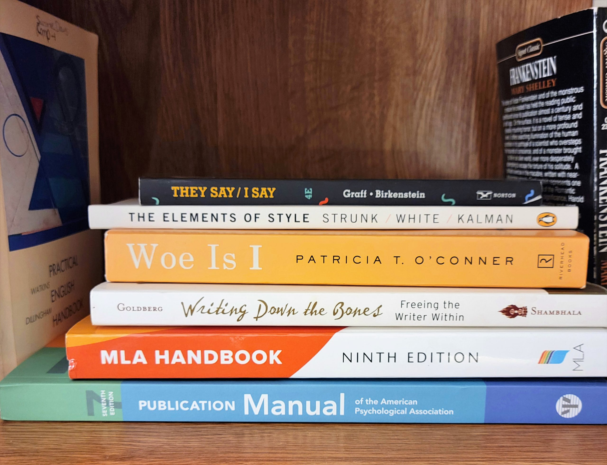 5 Favorite College Writing Books